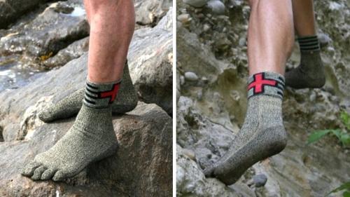 جوراب انگشتی سخت و با دوام