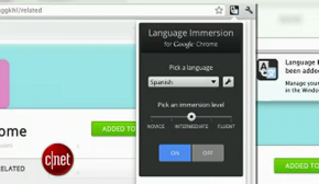 Learn a new language via Google