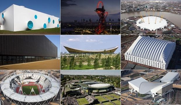 9 ساختمان برگزیده المپیک لندن