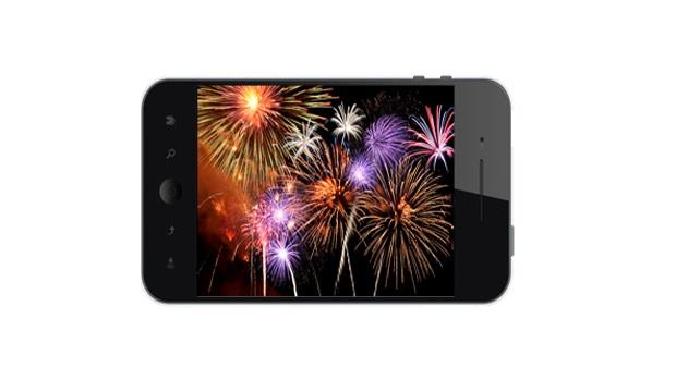 Phone Fireworks
