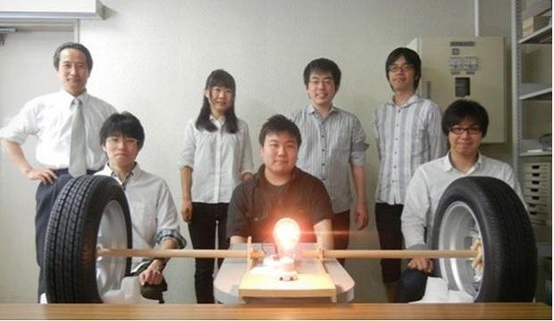 Takashi Ohira and his group