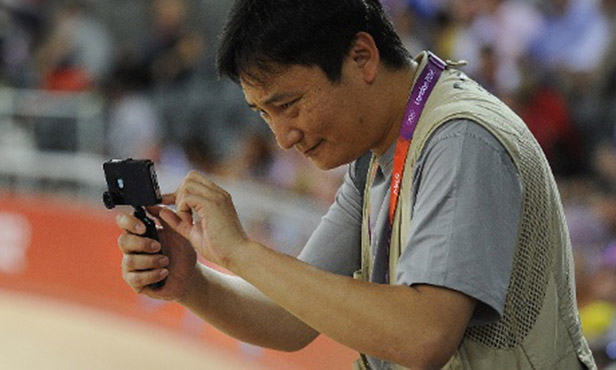 iPhone Goes Pro at the London Olympics