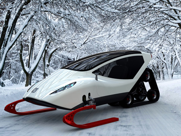 Coolest Snowmobile Ever