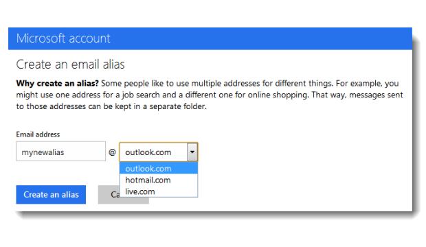 Create an alias