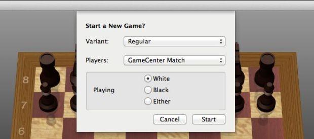 game center match