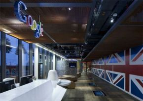 Inside Google's New London Office